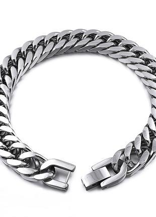 Мужской браслет-цепочка из нержавеющей стали