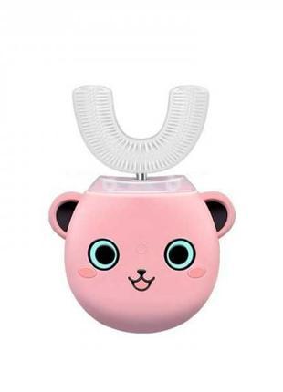 Умная электрическая зубная щетка капа со стерилизацией Детская...