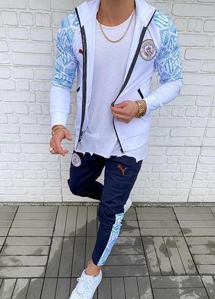Спортивный костюм мужской puma manchester турция / комплект ко...