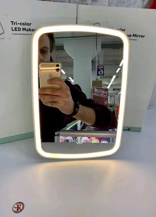 Xiaomi зеркало для макияжа новая версия NV505 2400mAh АКБ 3 уровн