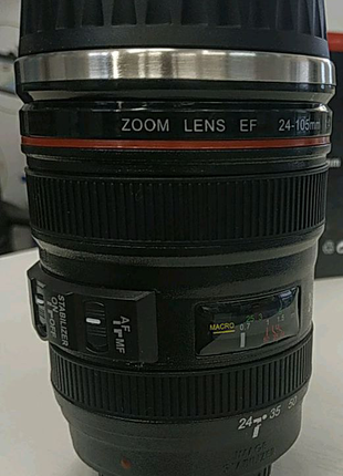 Чашка термос объектив lens cup Кружка термо в виде объектива