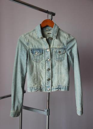 Джинсовая куртка Topshop