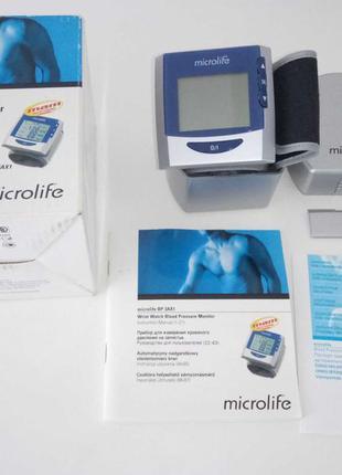 Тонометр на запястье Microlife BP 3AX1