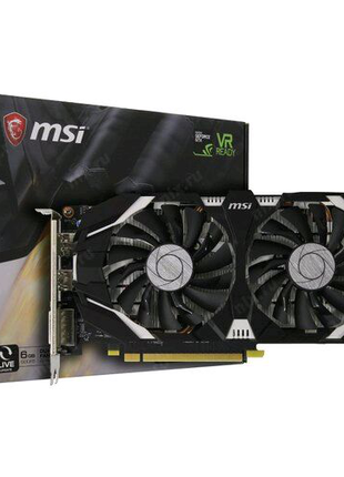 Видеокарта MSI GeForce® GTX 1060 (6Gb GDDR5) 6 Гб GDDR5