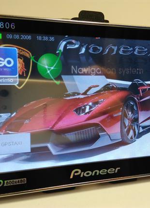 """Pioneer 5"""" -GPS навигатор с последними картами Европы и Украины!"""