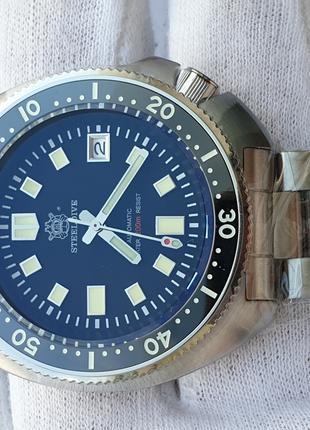 Мужские часы SteelDive 300m Automatic Sapphire