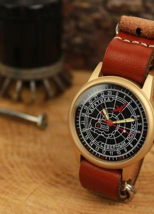 Наручные часы ракета полярные 24 часа