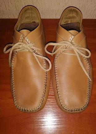 Женские демисезонные ботинки, мокасины 41 размера clarks