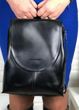 Женский кожаный рюкзак портф4ль шкіряний жіночий