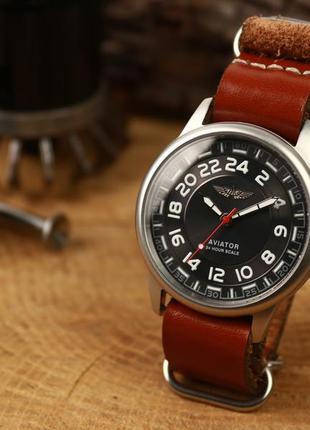 Наручные мужские часы ракета авиатор - 24 часа, вахтовые