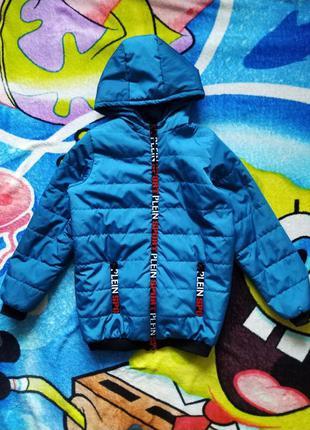 Демисезонная куртка для мальчика 10-11 лет.