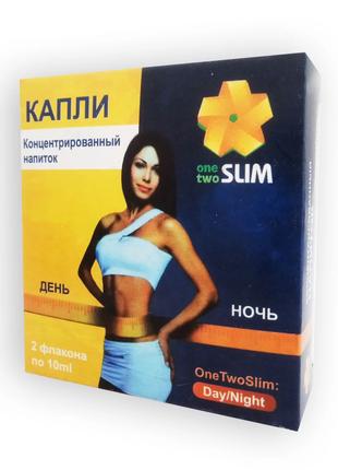 OneTwo Slim - концентрированные капли для похудения Ван Ту Слим