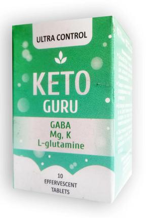 Keto Guru - Шипучие таблетки для похудения Кето Гуро