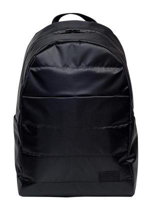 Мужской черный стильный рюкзак для спортзала
