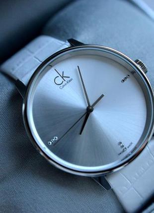 Женские часы с бриллиантами calvin klein швейцарские, минимализм