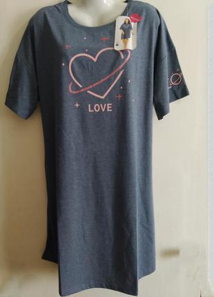 Ночная рубашка, большого размера