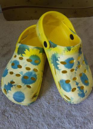 Женские сабо / крокс босоножки сандали