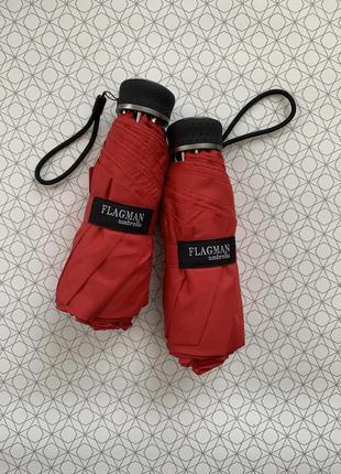 Компактный и крепкий mini зонт от flagman