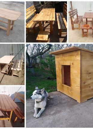 Продам садовую мебель и другие деревянные изделия