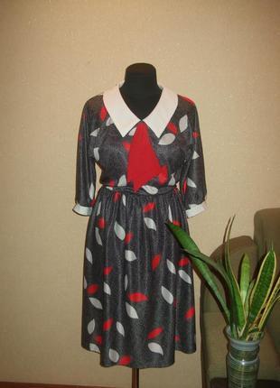Оригинальное платье ,в стиле ретро