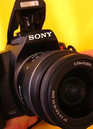 Цифровой.Зеркальный фотоаппарат Sony Alpha DSLR-A290. Полный комп
