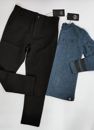 Идеальные черные брюки,  штаны классические sofie schnoor, 128...