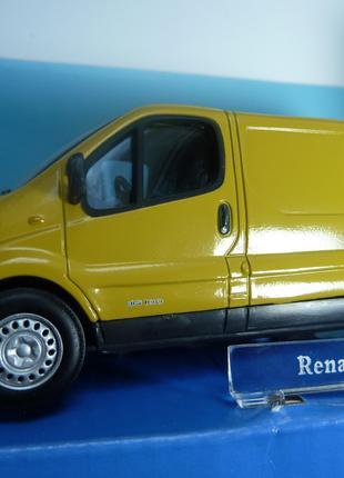 Renault Trafic  VAN Cararama Масштаб 1:43