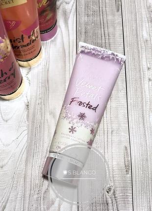 Лосьон velvet petals frosted от victoria's secret.