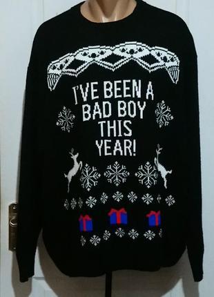 Новогодний свитер пог 79