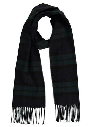 Мужской шерстяной шарф. шотландия