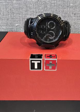 Мужские часы tissot t-race chronograph t048.417.37.057.00 sapp...