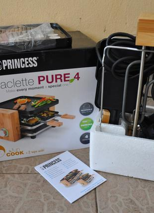 Електрогриль, Раклетница Princess grill pure 4