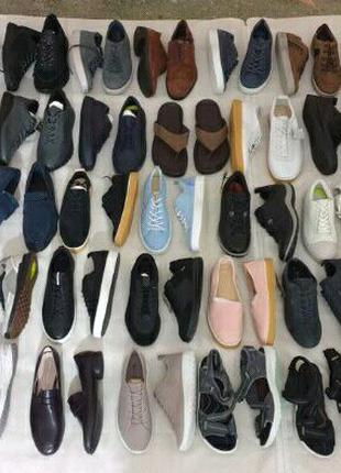 Сток обувь, оптом, кожа, ботинки