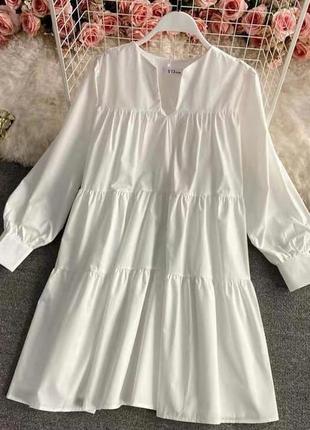 Платье 👗 свободного стиля. 2 цвета.