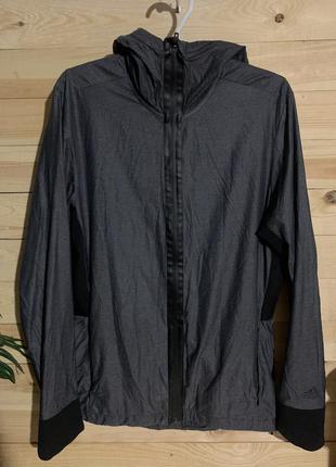 Куртка ветровка дождевик от adidas оригинал