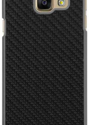 Чехол Utty PC+Carbon Fibre PU for Samsung A3 2016/A310 Black