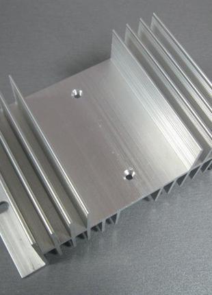 Радиатор охлаждения для реле серий SSR, размер 125х71х50 мм