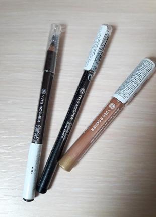 Набор новых карандашей для глаз yves rocher