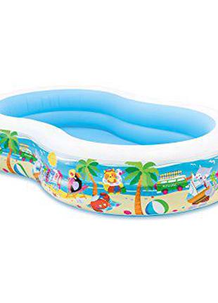 """Детский надувной бассейн """"Райская лагуна"""""""