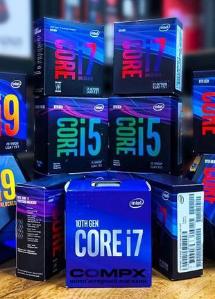 BEST! Intel K-серия (2500,4770,6600,6700,8600,9600,9900) Core ...