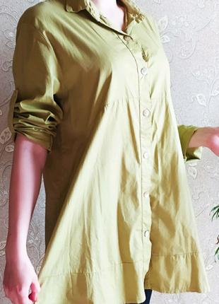 Итальянская коттоновая рубашка