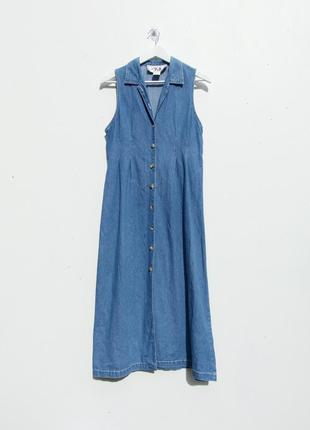 Джинсовые платье сарафан