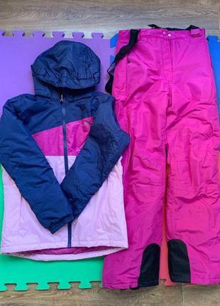 Лыжный костюм на девочку зимний костюм куртка зимняя crivit