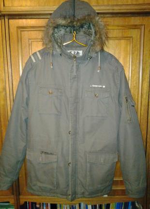 Куртка – парка (на меху) стильная