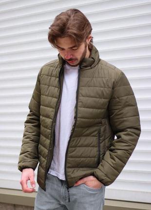 Весенняя мужская куртка на холлофайбере: нейлон 100%  водоотта...
