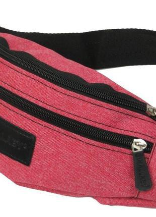 Сумка на пояс, бананка wallaby 2906-3 красный, розовый