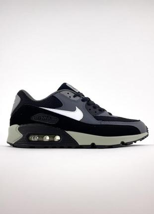 Nike air max 90 gray black