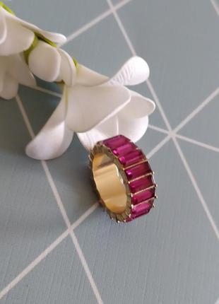 Кольцо с камнями, колечко, перстень asos