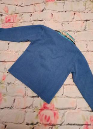 Теплая рубашка для мальчика, 92-98