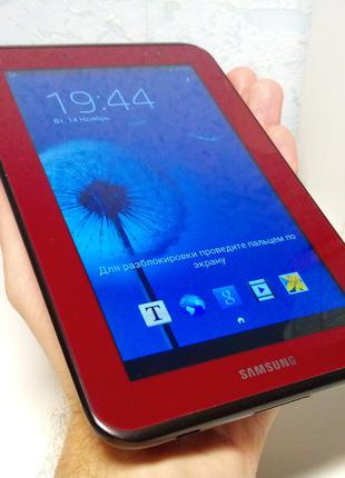 Планшет Samsung Galaxy Tab 2 RED 7.0. Оригинал в идеале! IPS! 1/8